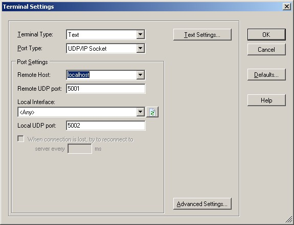 Settings required to the safety critical file system demo